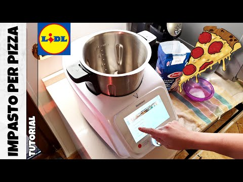 MONSIEUR CUISINE CONNECT Lidl - Come fare impasto per pizza