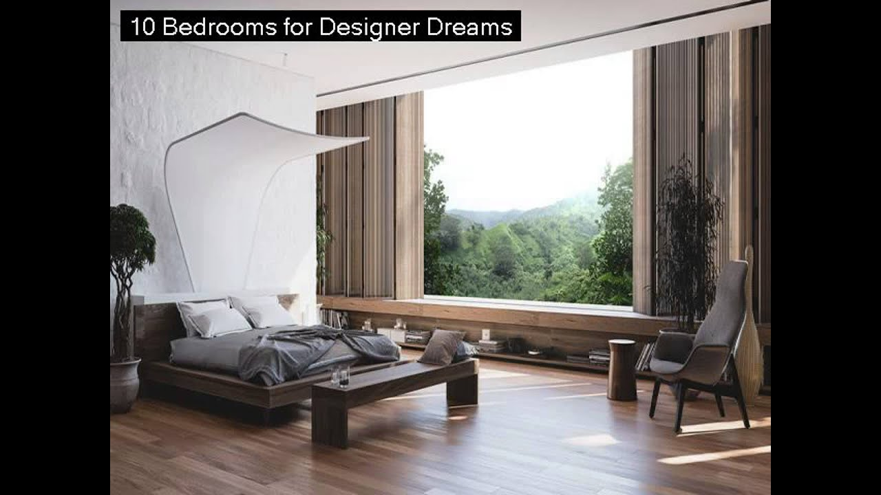 10 Bedrooms For Designer Dreams   YouTube