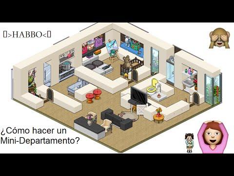 Habbo: ¿Cómo hacer un Mini-Departamento?♥ - YouTube