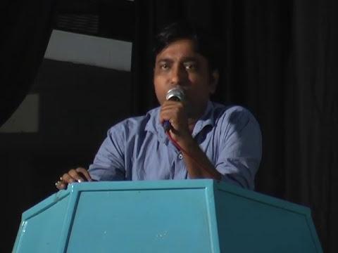 Opening speech by Mr. Raju Guha : Annual day celebration by Birati Globe Vision Society