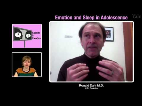 Experts in Emotion 16.1 -- Ronald Dahl on Emotion and Sleep in Adolescence