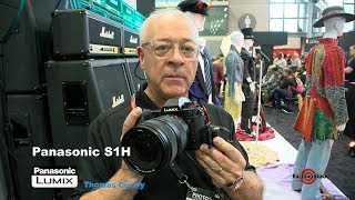 Panasonic Lumix S1H camera review by Thomas Curley at PhotoPlus 2019 for Fashion Photography Channel