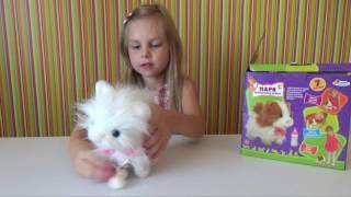 Интерактивная кошечка Мари  Распаковка и обзор игрушки из мультика Кошечка Мари