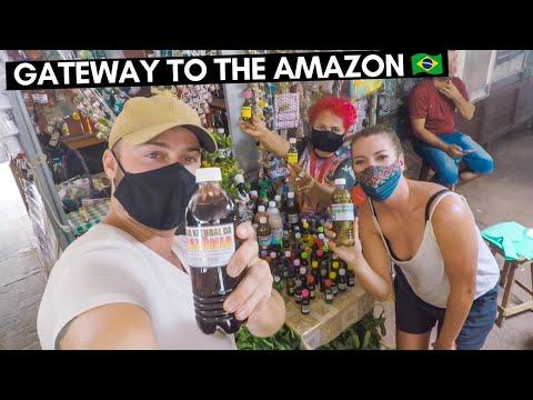 VISITING BELÉM, BRAZIL 🇧🇷 THE GATEWAY TO THE AMAZON IN PARÁ STATE | TRAVEL BRAZIL