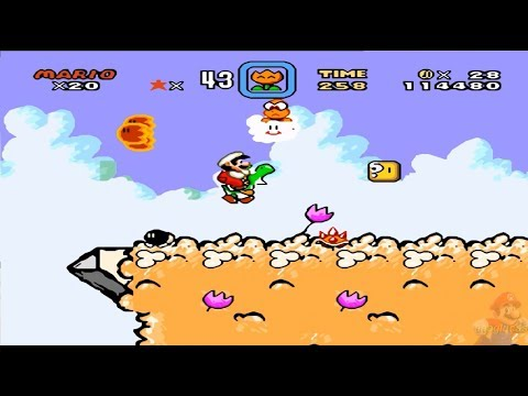 Super Kitiku Mario - Brutal Mario HD 100% World 1: Grassland