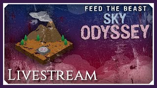 FTB Sky Odyssey | Castle! | FTB Sky Odyssey Livestream