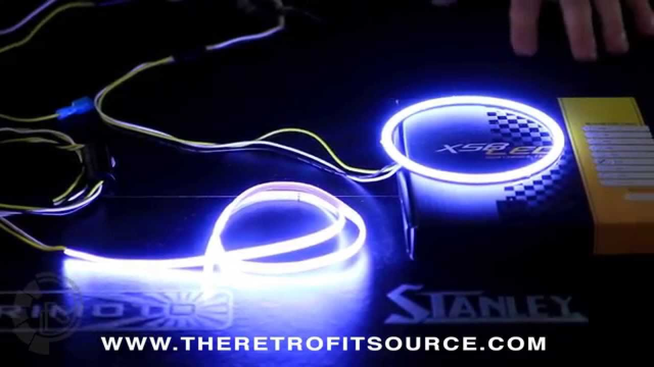 TRS Tech: Morimoto XSB LED Switchback Angel Eye Halos and Flexible