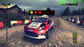 WRC 2 - FIA World Rally Championship 2011 - FRAPS recorded in 1080P