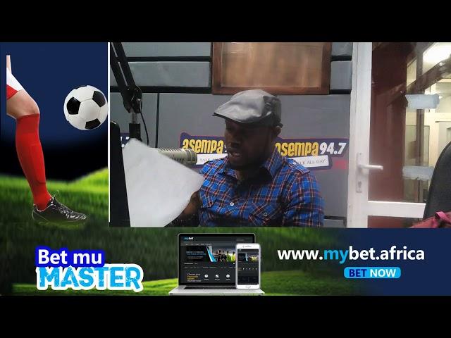 #UltimateSportsShow on Asempa FM (19-10-18)