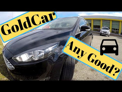 Goldcar Italy Car Hire Review at Treviso Airport