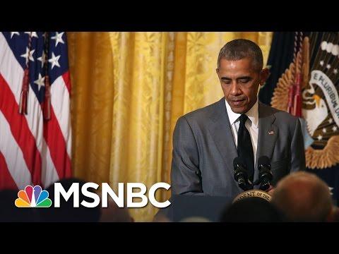 President Obama's Press Secretary Josh Earnest Recalls His Legacy | MSNBC