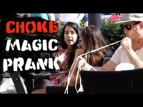 Choking Magic Prank  ???? -Julien Magic