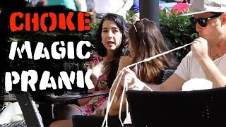 Choking Magic Prank  😱 -Julien Magic