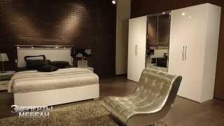 Спальня Space из Италии фабрика Polywood, итальянская спальня Space - правильный выбор(Итальянская спальня Space White - это современная модель спальни, выполненная в белом цвете. Фасады шкафа (http://www.y..., 2015-03-10T11:59:53.000Z)