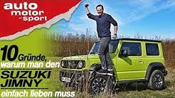 10 Gründe, warum man den Suzuki Jimny lieben muss - Bloch erklärt #59   auto motor und sport