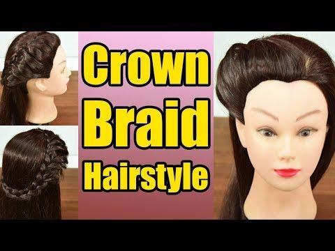 Hairstyle Tutorial: Crown Braid Hairstyle | Boldsky