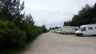 Aire de stationnement camping car de Cayeux sur Mer Le Hourdel (80-Somme)
