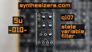 5U // Synthesizers.com - Q107 State Variable Filter