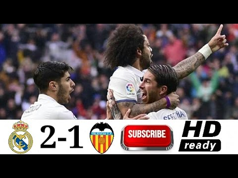 Real Madrid   Valencia All Goal Highlight La Liga Spanyol