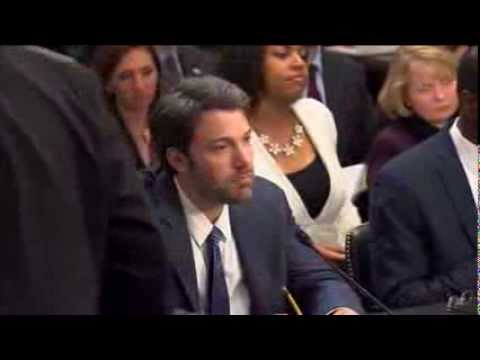 Ben Affleck Talks Situation In The Congo in Front of Congress