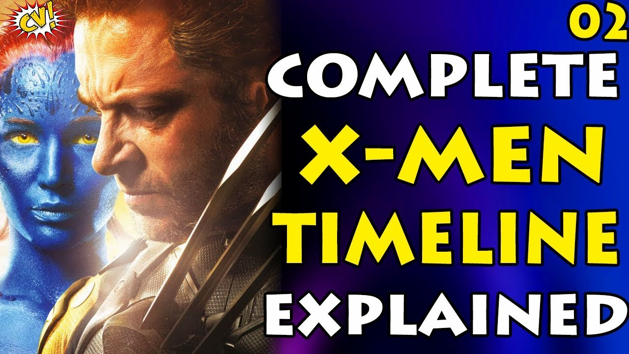 Complete X-MEN Timeline Part -2 || Time Travel Confusion || #ComicVerse