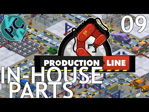 In-House Parts : Let's Play Production Line EP09 - Alpha 1.30 Manufacturing Tycoon Gameplay