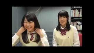 SKE48 1+1は2じゃないよ! 2015年04月15日放送分(水) 宮前杏実vs梅...