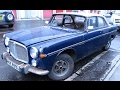 Rover P5B Coupe.1st start/run in 30 years.Barn Find.
