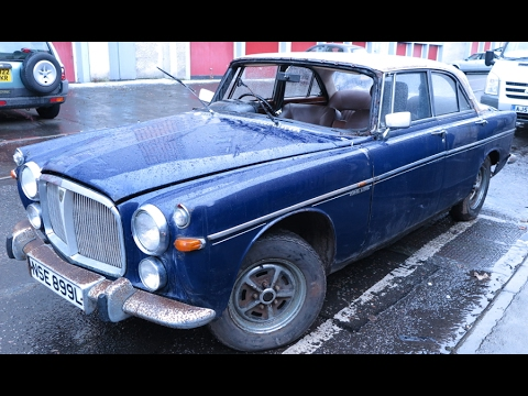 Rover P5B Coupe1st Start Run In 30 YearsBarn Find