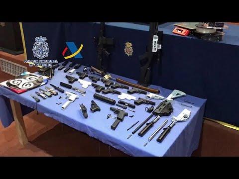 الشرطة الإسبانية تفكك ورشة عمل غير قانونية لتصنيع أسلحة بطابعات ثلاثية الأبعاد…  - نشر قبل 3 ساعة