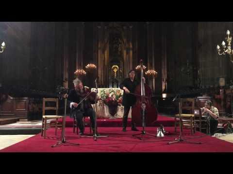 Joëlle Léandre & Mat Maneri @ Église Saint-Eustache 11-28-16