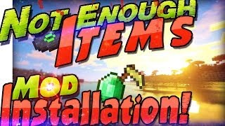 Not Enough Items INSTALLATION DEUTSCH ☀ NEI 1.10.2 ☂ Minecraft 1.10 Mods ☁ Cheat & Rezepte Mac Win