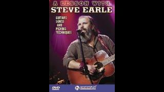 Steve Earle Plays (and Teaches) Nashville Blues