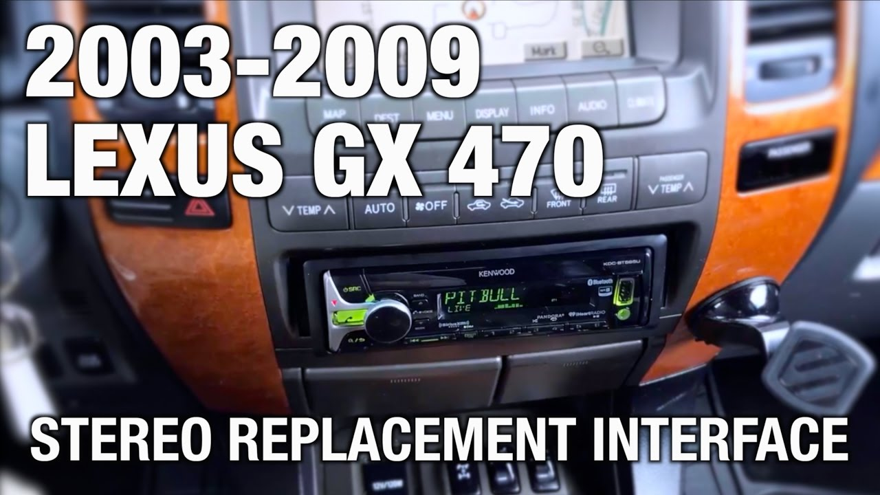 Beat Sonic Stereo Replacement On 2003 2009 Lexus Gx 470 With Factory Acura Of Car Ac Wiring Diagram Navigation Customer Review