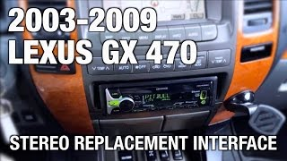 Beat-Sonic stereo replacement on 2003-2009 Lexus GX 470 with factory navigation Customer Review