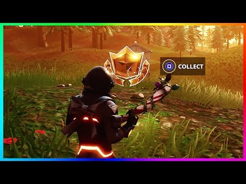 """""""Follow the Treasure Map Found in Snobby Shores"""" (Fortnite Battle Royale)"""