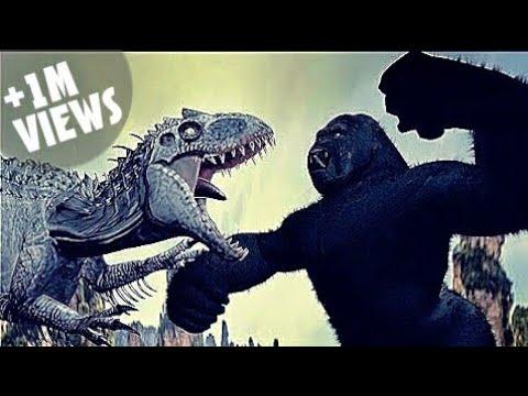 King Kong Vs Indominus Rex (Part 1)