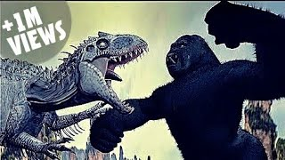 King Kong Vs Indominus Rex (Part 1)