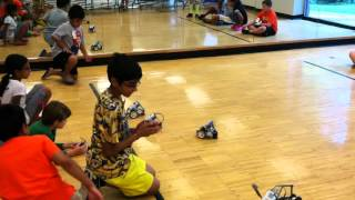 Robotics Camp, August 2014, Twinbrook Community Center