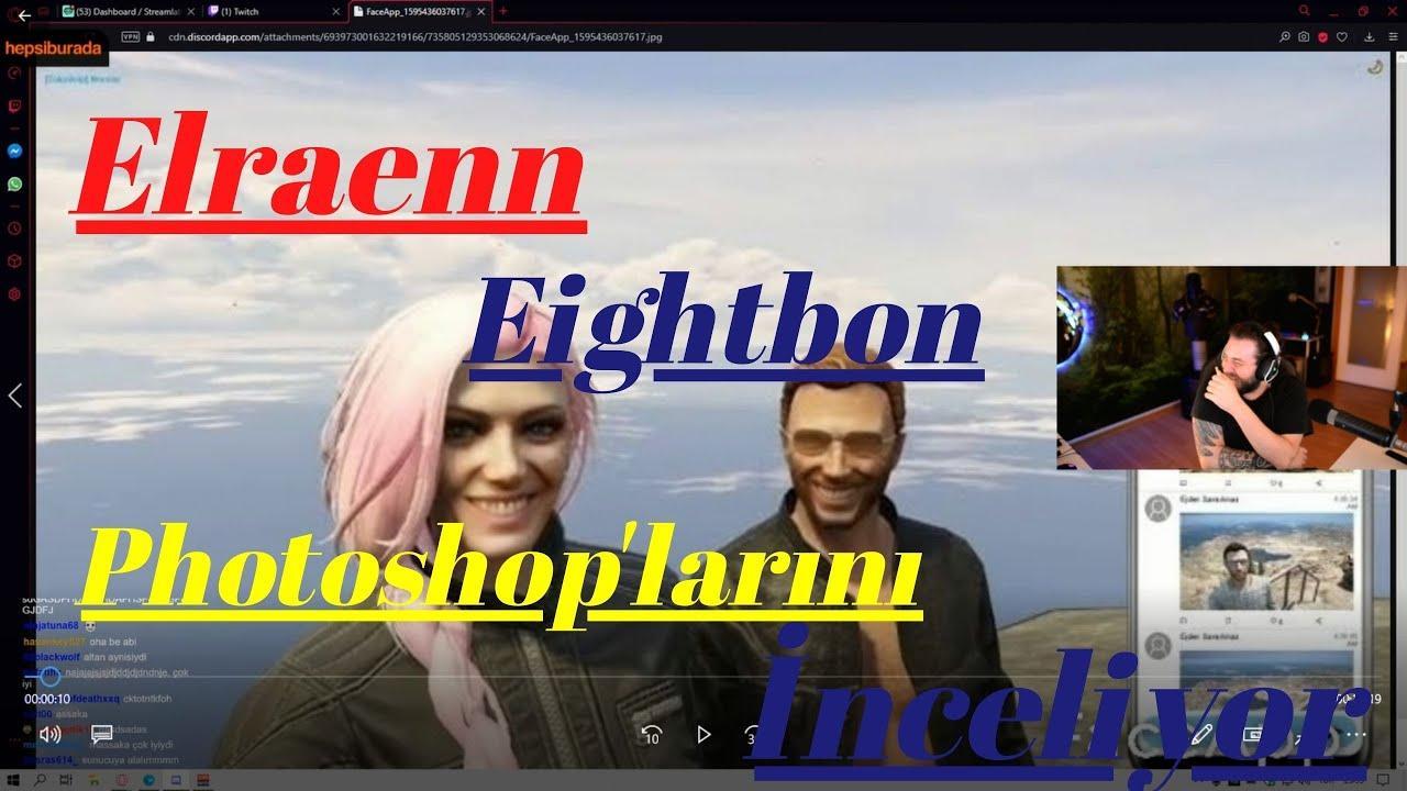Elraenn-: Eightborn Ekibinin Photoshop'larını İnceliyor.