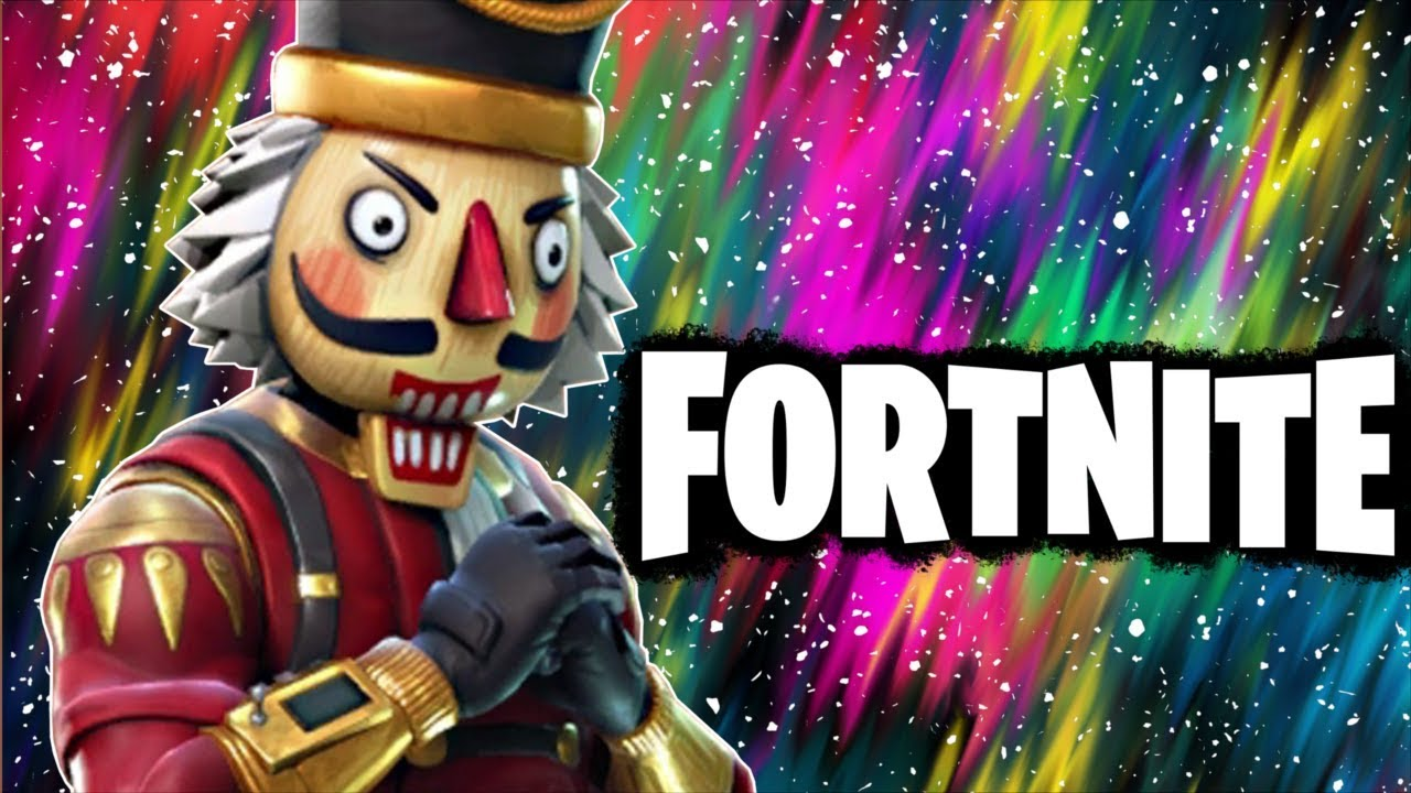 Dabbing Nutcracker Fortnite Battle Royale Funny Moments Youtube