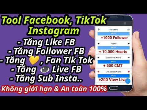 phần mềm hack like facebook cho android - Ứng dụng Tăng Like,Người theo dõi Facebook,Tiktok trên ĐT Mới nhất 2020│An toàn,Không cần Đăng Nhập