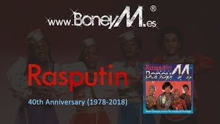BONEY M. - Rasputin (40th Anniversary)