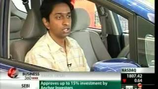 Akshay on UTV-i about Honda Jazz