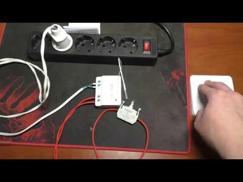 Беспроводной выключатель с реле из Китая