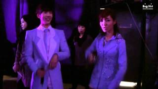 Lim Jeong Hee with  Jo Kwon_ MusicBank comeback Episode