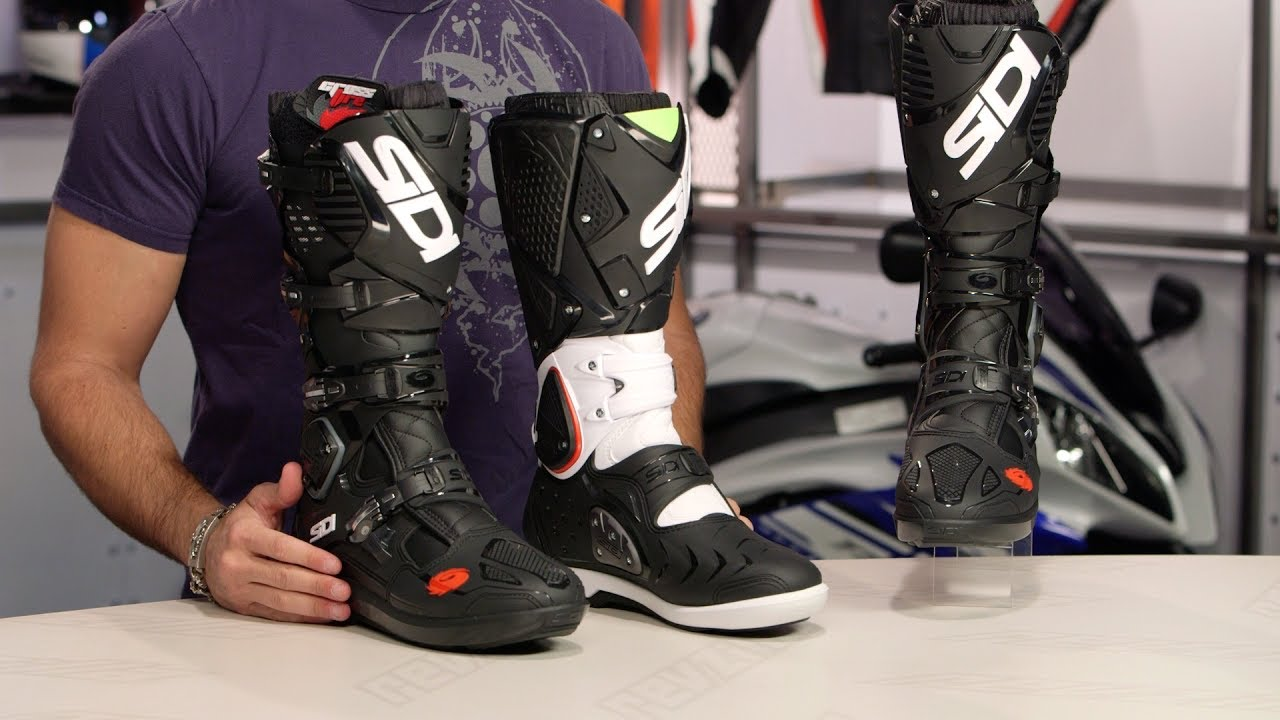 sidi crossfire 3 srs boots review at youtube. Black Bedroom Furniture Sets. Home Design Ideas