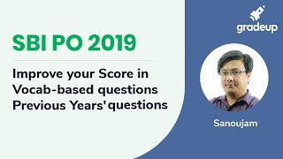 SBI PO 2019 | Previous Year Paper Discussion | Vocab based questions