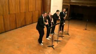 """""""FuGaGa"""" - Clarinet quartet """"Nevsky"""""""