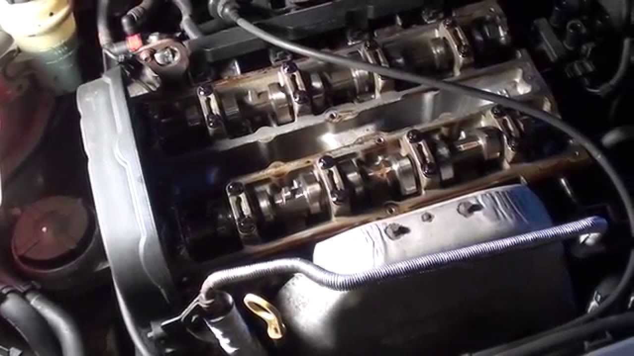 symptoms of an engine valve cover gasket failure [ 1280 x 720 Pixel ]